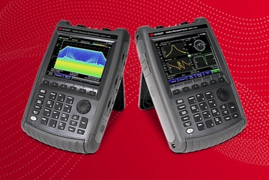 FieldFox Analizador de microondas portátil para 5G