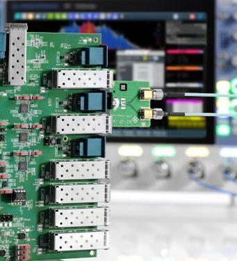Solución MultiGBASE-T1 para test de cumplimiento de Ethernet automotriz