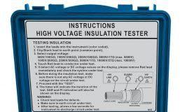 Medidor de aislamiento de alto voltaje 2680 A