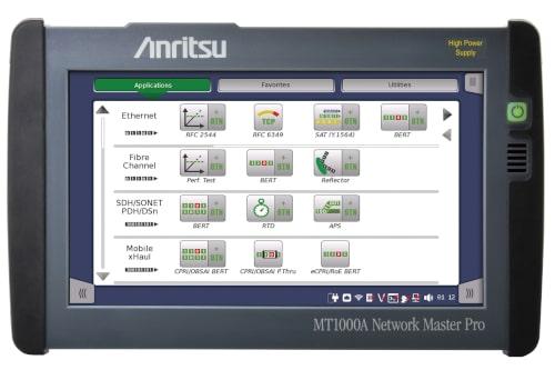 MT1000A Analizador con función de medida simultánea para redes móviles 5G