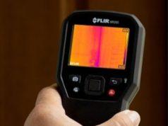 MR265 medidor de humedad con imágenes térmicas