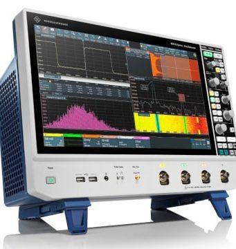 """Osciloscopios RTO6 con pantalla táctil Full HD de 15,6"""""""
