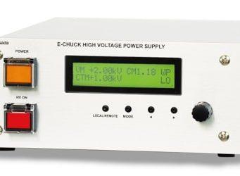 Fuente de alimentación electroestática E-chuck con sensor Wafer