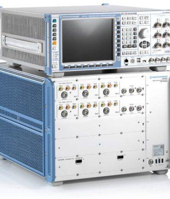Pruebas de reverberación RTS con comprobador de radio 5G