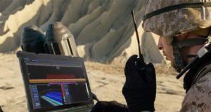 Analizador de espectro SPECTRAN V6 MIL en tiempo real