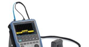 Analizadores de espectro portátiles de hasta 44 GHz Spectrum Rider FPH